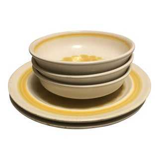 Franciscan Ware Sundance Dinnerware - Set of 5 For Sale