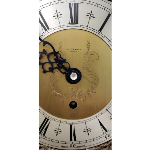 Vintage Tall Case Clock by Elliott, England For Sale - Image 10 of 13