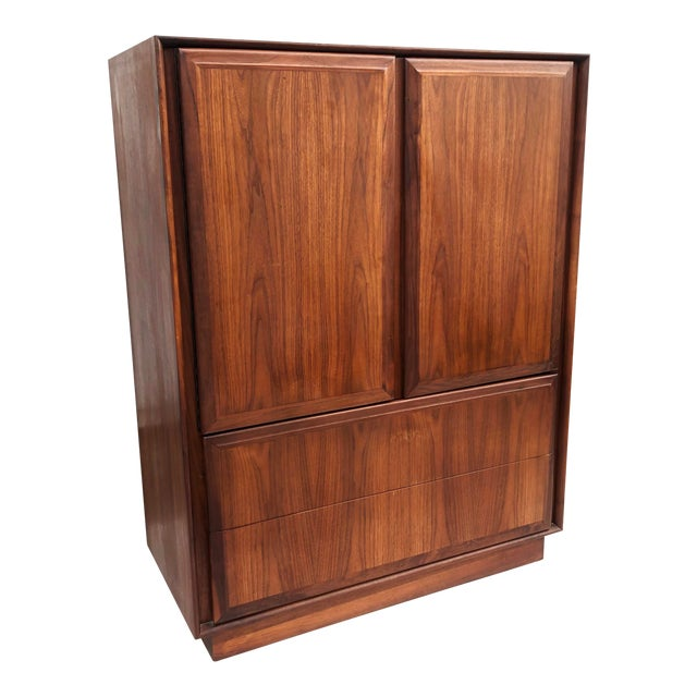 Mid-Century Armoire Dresser by Dillingham For Sale