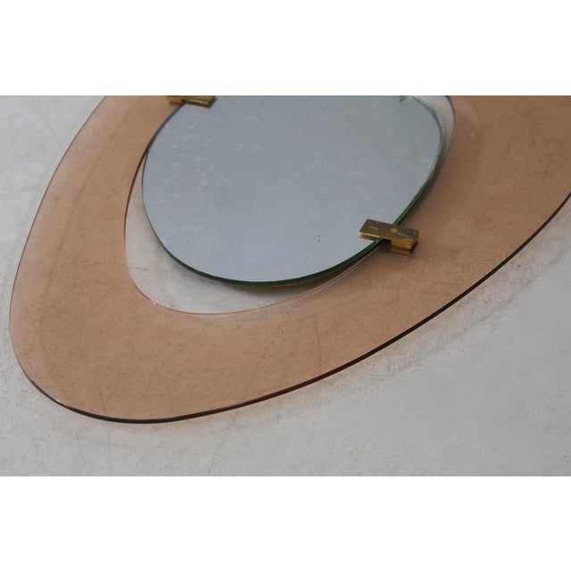 1950s Max In Mid Century Mirror for Fontana Arte Italy, 1950s For Sale - Image 5 of 8