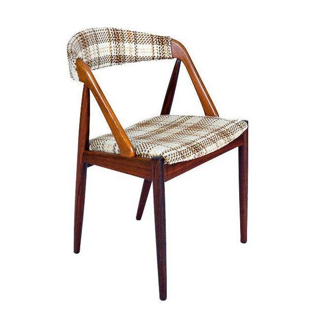Set Of 6 Rosewood Kai Kristiansen Dining Chairs - Image 4 of 10