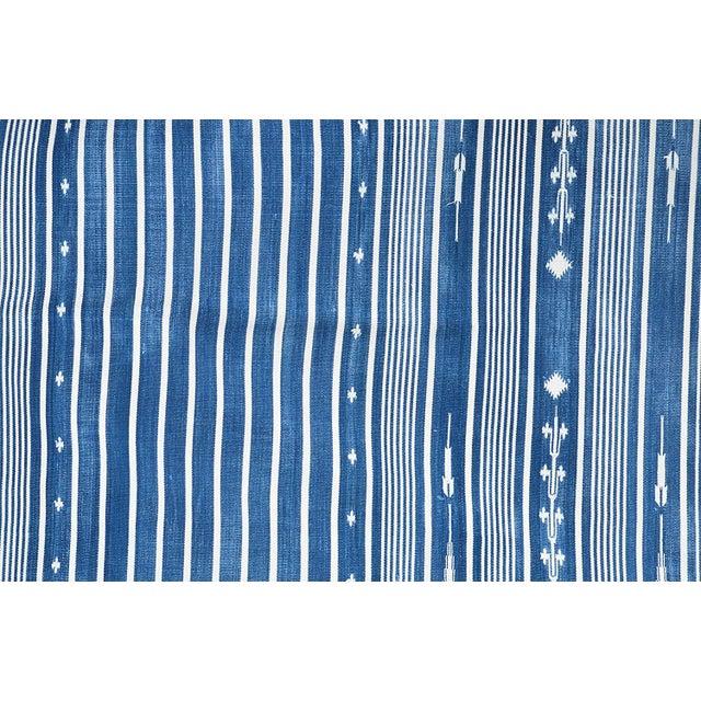 Casa Cosima Honeysuckle Rug, 8x10, Blue & White For Sale - Image 4 of 5