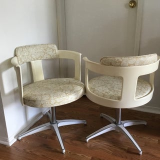 Mid Century Daystrom Furniture Tulip Chairs- a Pair Preview