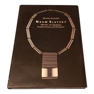 "Jewelry Design 1990 German ""Naum Slutzky"" Book by Monika Rudolph For Sale"