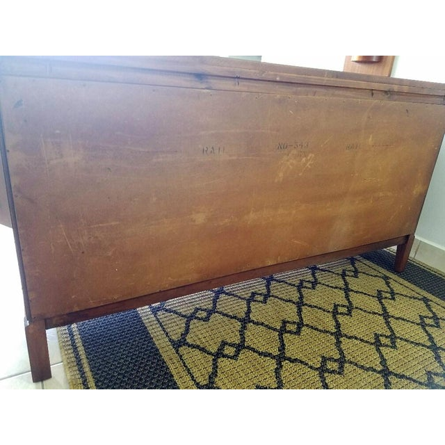 Wood Vintage Walnut Sideboard / Credenza For Sale - Image 7 of 11