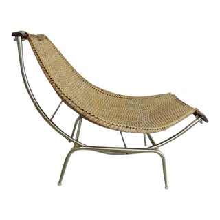 1950s Vintage Troy Sunshade Lounge Chair For Sale