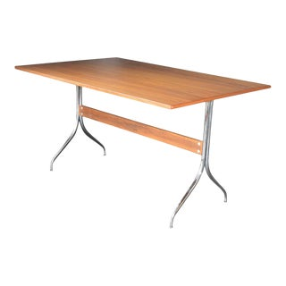 Mid 20th Century Swaged Leg Desk Table by George Nelson for Herman Miller For Sale