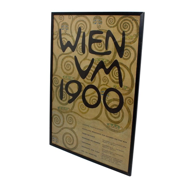 Vintage 1964 Wien Festival Poster - Image 2 of 5