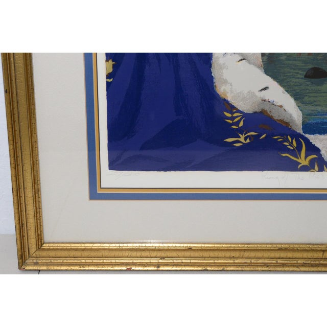 """Late 20th Century Charles Bragg """"King of Me's"""" Limited Edition Signed Serigraph For Sale - Image 5 of 11"""