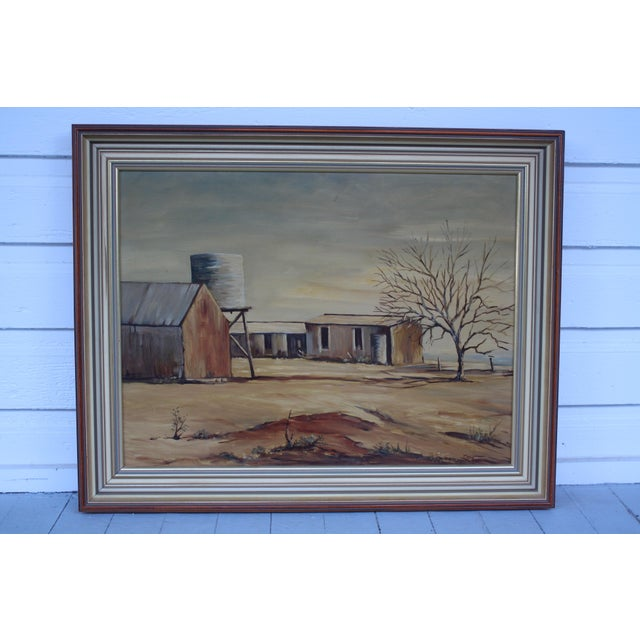 May Jones Australian Oil Painting For Sale - Image 11 of 11