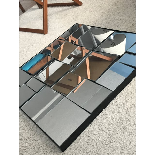 Contemporary Cb2 Neal Small Slopes Style Mirror For Sale - Image 3 of 10