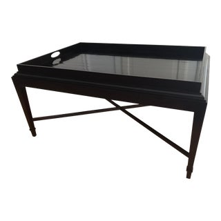 Barbara Barry for Baker Furniture Tray Top Coffee Table For Sale