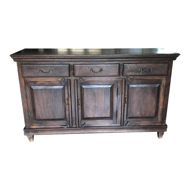 Mig Sand Tig Sideboard Buffet For Sale