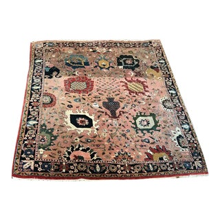 """Vintage Contemporary Indian Rug-8'5'x11'4"""" For Sale"""