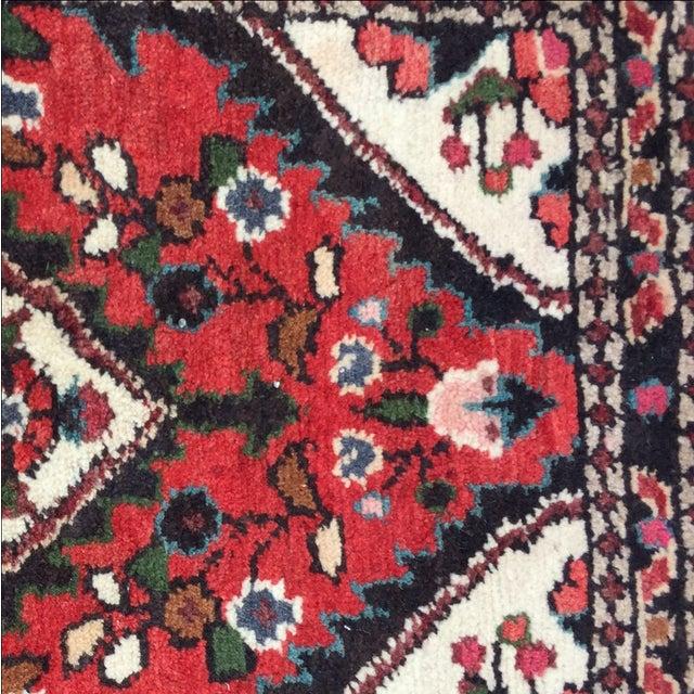 Vintage Hamadan Persian Rug - 1′8″ × 2′1″ - Image 5 of 9