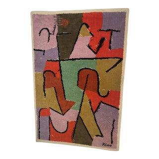Paul Klee by Ege Axminster Art Line Rug Wall Art For Sale