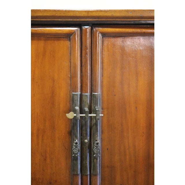 1900s Antique Nanmu Wood Armoire For Sale In Los Angeles - Image 6 of 10