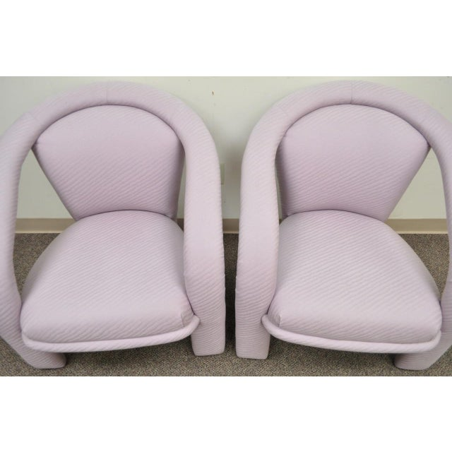 Carson's Sculptural Mid-Century Modern Lounge Chairs - A Pair - Image 6 of 11