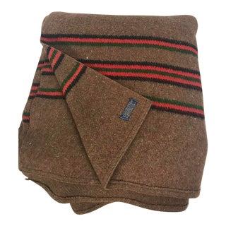 1980s Vintage Pendleton Wool Blanket For Sale