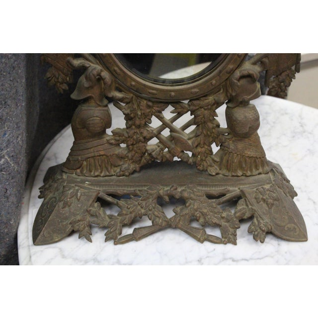 Federal Gothic Style Military Motif Table Mirror For Sale - Image 3 of 8