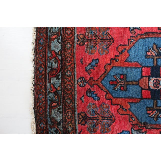 Antique Persian Rug - 3′1″ × 6′3″ - Image 4 of 4