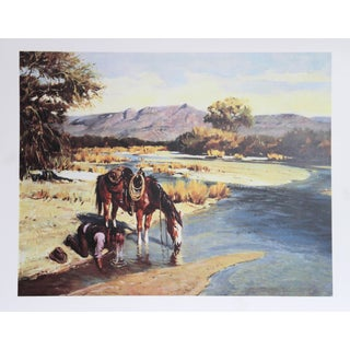 Duane Bryers, Cooling Off, Lithograph For Sale