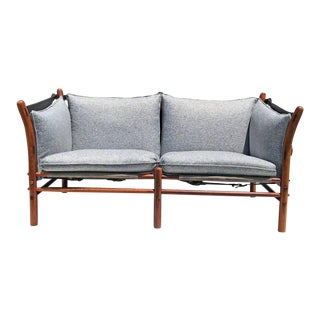 "1960s Vintage Arne Norell ""Ilona"" Safari Settee For Sale"