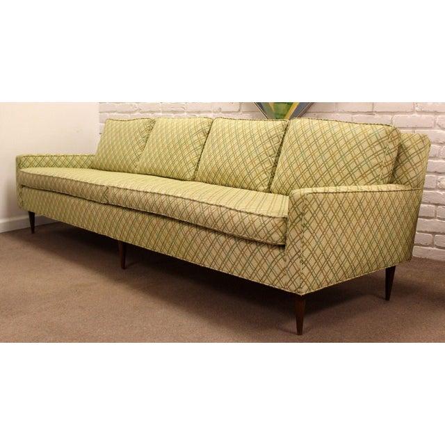 e73684e1111a 1960s Vintage Mid-Century Modern Scandinavian Style Sofa