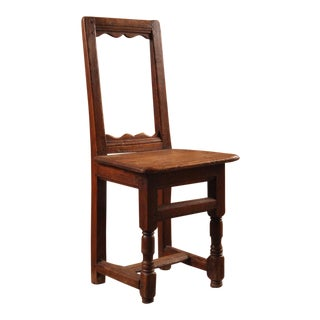 Diminutive French 19th Century Side Chair For Sale