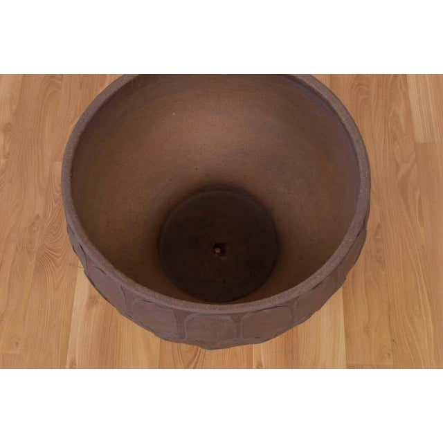 """Architectural Pottery David Cressey for Architectural Pottery """"Thumb Print"""" Planter For Sale - Image 4 of 6"""