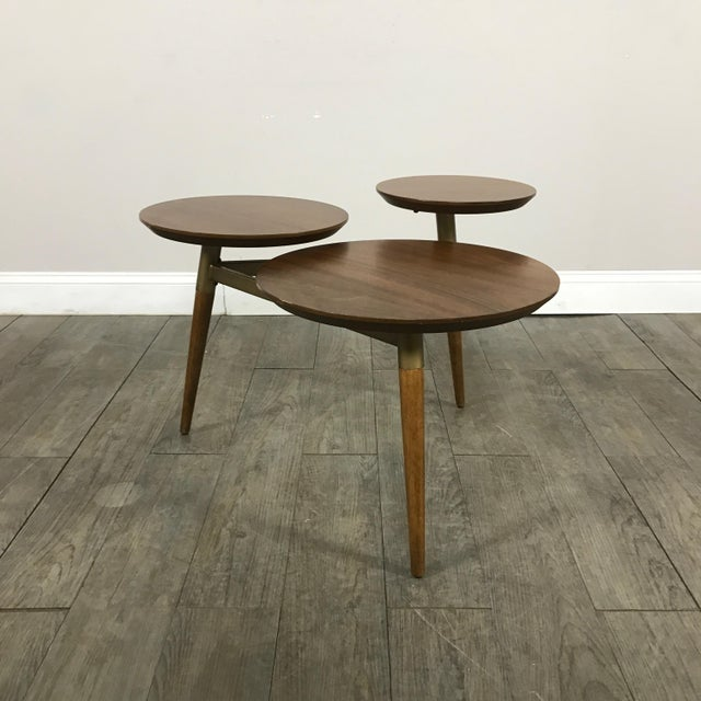 West Elm Mid-Century Modern Tri Surface Coffee Table - Image 2 of 7