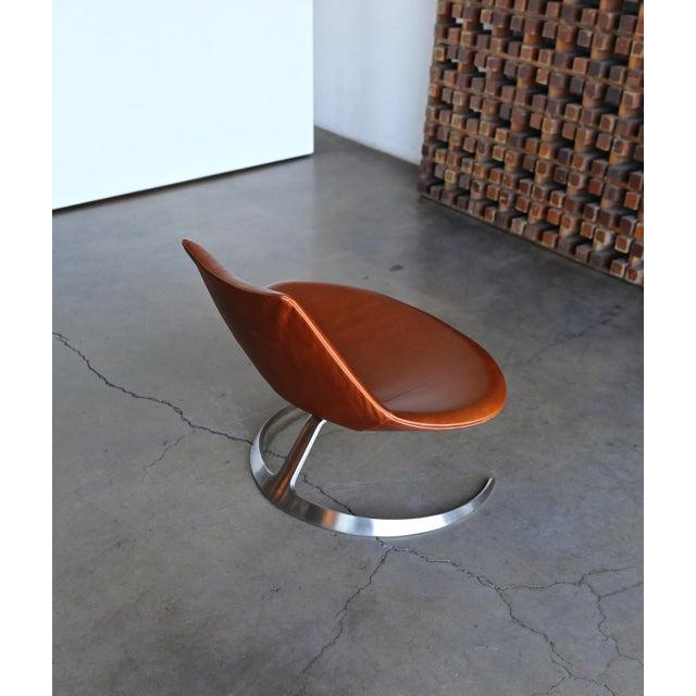 Preben Fabricius & Jørgen Kastholm Scimitar Chairs by Ivan Schlecter Circa 1965 For Sale - Image 9 of 11