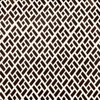 Boho Chic Quadrille Edo Linen Designer Fabric by the Yard For Sale