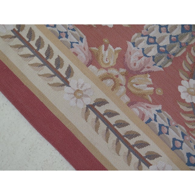 1980s Aubusson Room Size Rug - 8' X 12' For Sale - Image 4 of 13