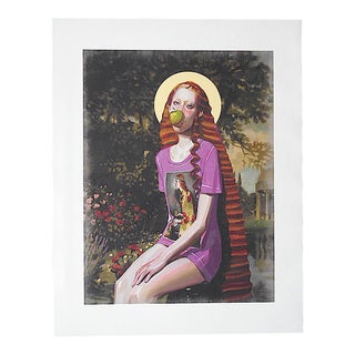 Gucci Illustration Art-Lithograph by Ignase Monreal For Sale