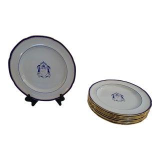 Antique Copeland Spode Dinner Plates -Set of 9 For Sale
