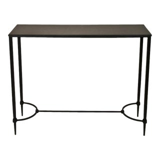 Mismatched Fuller Console With Black Marble