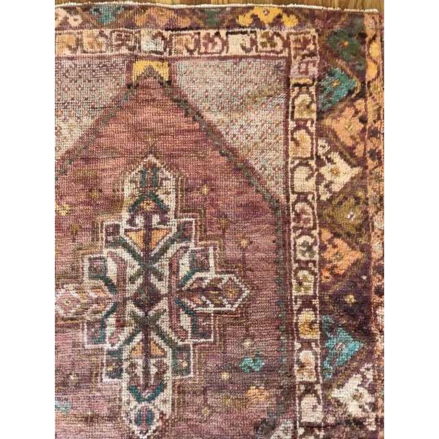 """Turkish Bellwether Rugs Turkish Patina """"Lo"""" Rug - 2′8″ × 3′11″ For Sale - Image 3 of 7"""
