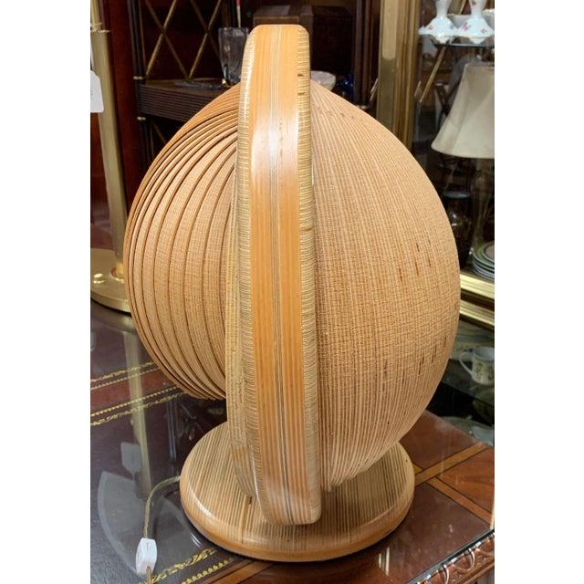 Mid 20th Century Danish Modern Nautilus Lamp For Sale - Image 5 of 12
