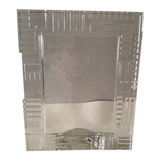 Waterford Marquis Crystal Cubist Photo Frame For Sale