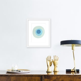 "Small ""Larimar"" Print by Neicy Frey, 17"" X 21"" Preview"