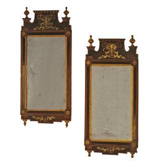 18th Century Tony Hail Danish Mirrors - a Pair For Sale