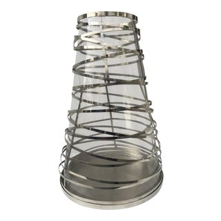 Large Tory Hurricane Candle Holder For Sale