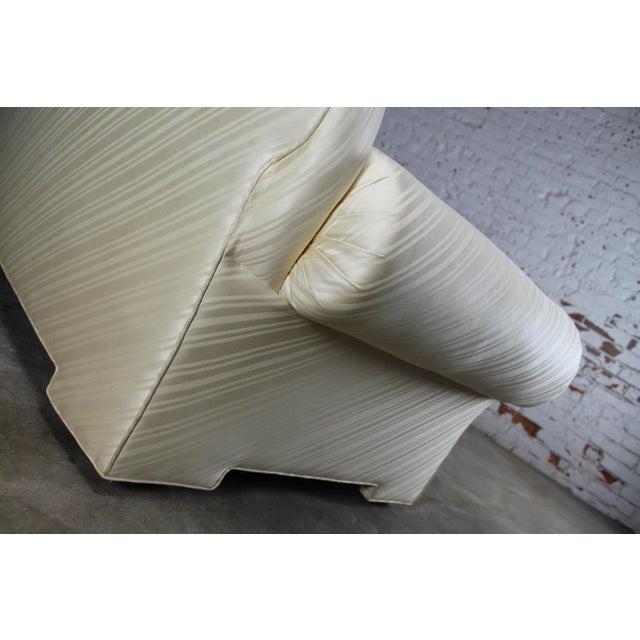 1976 Vintage White Donghia Sofa - Image 7 of 11