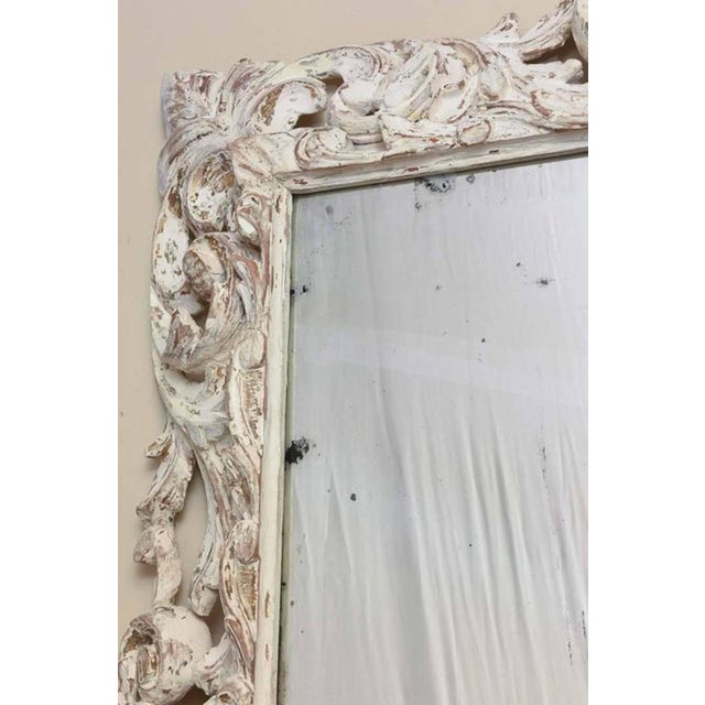 2adb29eafae7 18th Century Foliate-Carved Wood Mirror Frame For Sale In West Palm - Image  6