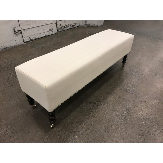 1990s Two George Smith Benches For Sale - Image 5 of 6