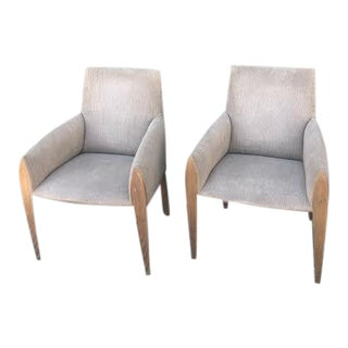 Vintage Mid Century Dakota Jackson Armchair- A Pair For Sale