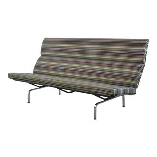 Eames Sofa Compact with Paul Smith Fabric by Herman Miller For Sale