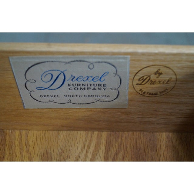 Drexel Profile Mid-Century Walnut Tall Chest For Sale In Philadelphia - Image 6 of 10