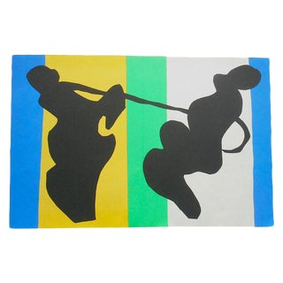 "Vintage Folio Size Matisse Print From The ""Jazz"" Portfolio For Sale"